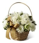 Edmonton Florist, Golden Holiday  - Lily, Roses, Daisy , Bow , Cones , Pine, Fir, Ornaments- call 780-914-8045/NW11
