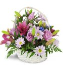 Edmonton Florist, Warm Remembrance Basket/D-03