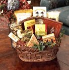 Edmonton Florist, Large Holiday Gift Basket - pretzels,4 kinds chocolates,Trail mix nuts,cookies ,ginger bread,tea,waffers & more/409