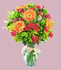 Edmonton Florist, Spicy Vase Arrangement/017