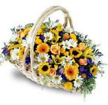 Edmonton Florist, Basket  with Super Variety of Flowers/073