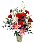 Edmonton Florist, Lilies, Roses, Carnations, Stock Flower , & more in Vase/092