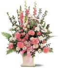 Edmonton Florist, Loving memories Sympathy large arrangement/097