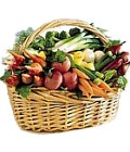Edmonton Florist, Vegetable basket -That's One Healthy Gift !/041